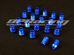 ruedas jdm Rebajas 20pcs JDM M12 x 1,25 Racing Lug tuercas de la rueda de tornillo para azul