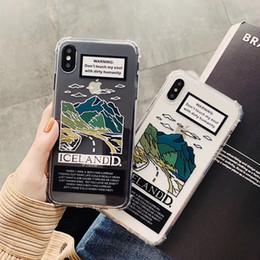 2019 дизайн корпуса для пары INS Европа пейзаж горный дизайн пара текстовый чехол для телефона для iphone XS MAX XR XS 6 6 S 7 8 плюс прозрачный мягкий ТПУ задняя крышка дешево дизайн корпуса для пары
