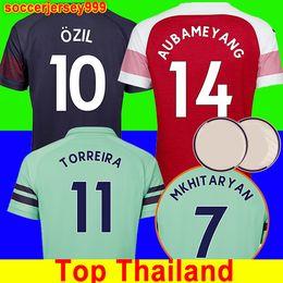 ae4aaa4f362 Thailand Arsenal soccer jersey football shirt Fußball Trikot 18 19  AUBAMEYANG LACAZETTE 2018 2019 Camiseta XHAKA OZIL Fußballtrikot Shirt  Uniformen Maillot ...