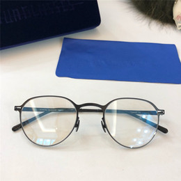 a996e8515b6 New MYKITA Optics glasses GUNNAR round frame with mirror lens ultralight  frame Memory Alloy oversized man and women HD lens with box