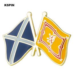 blauer reversstift Rabatt Schottland Blue Scotland Lion Freundschaft Flagge Anstecknadel Abzeichen Anstecknadeln Abzeichen Brosche XY0521
