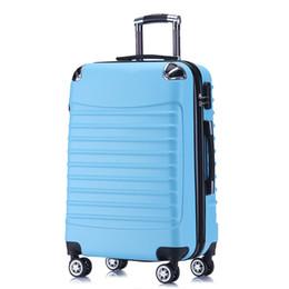 Canada Valise trolley élégante et pratique, valise de rangement super, coffre d'embarquement de roue universel de 20 pouces, valise en ABS + PC, coffre de 24 pouces cheap suitcase trolley 24 inch Offre