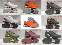 Venta caliente 2018 Mercurial Plus TN 2 zapatillas de deporte ultra puras de la zapatilla de deporte de calidad superior para hombre para mujer Athletic Running Shoes tamaño 36-46 desde fabricantes
