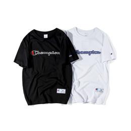 Canada Mens T Shirts 2019 Été Nouvelle Marque Designer Vêtements Mode Lettre Imprimer T-Shirt Tendance Street Style Tees 2 Couleurs Offre