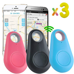 Cercatore di allarme portachiavi online-3PCS Key Finder Keychain Gps Tracker Fitness Tag Activity Locator Bambino Bambini Telefono cellulare Anti perso dispositivi di localizzazione di allarme Animali domestici