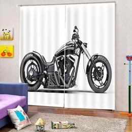 2019 camere moto Tende da stampa Personalizzate Tende di alta qualità di qualsiasi dimensione per tende da camera 3D stereoscopiche per moto da camera da letto sconti camere moto