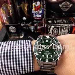 2019 механические часы зеленый циферблат Горячие продажи роскошные мужские часы зеленый циферблат автоматические механические мужские часы из нержавеющей стали мужские наручные часы бизнес часы бесплатная доставка дешево механические часы зеленый циферблат