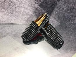 2019 erkek Eğlence Moda Tırnak Ayakkabı, Yüksek Kalite Kırmızı Alt en iyi deri Ayakkabı DHL veya EMS tarafından ücretsiz kargo EUR38-46 nereden