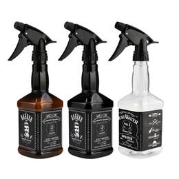Argentina Kanbuder 650ml Botella de spray de peluquería Salon Barber Herramientas para el cabello Corte de cabello Rociador de agua P # Dropship Suministro