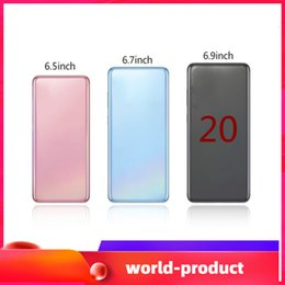 разблокированные смартфоны 3g wifi Скидка 2020 Goophone Andorid 9.0 Камера 8.0MP 6.9inch ES20 + 20plus 20U 6.5inch ES10 + смартфон Показать 4G LTE, 1 Гб оперативной памяти 4GB / 8GB / 16GB ROM, WIFI Bluetooth
