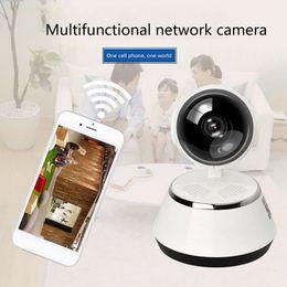 беспроводная камера дистанционного управления Скидка Беспроводная камера 720P HD Интеллектуальная сеть Wi-Fi пульт дистанционного управления монитором камеры наблюдения домашней безопасности ночного видения
