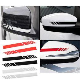 autocollants miroir côté Promotion 2 pcs Automobils Voiture Rétroviseur Autocollant Stickers De Voiture Badge Autocollant DIY Miroir Décor Side Decal Stripe Accessoires