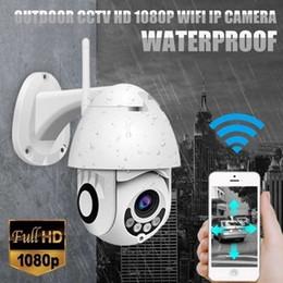 Câmeras de segurança ip de dome sem fio on-line-2019 atualização da câmera ip onvif wi-fi 2mp hd 1080 p sem fio dome speed cctv ir câmera de segurança ao ar livre vigilância netcam ip camara
