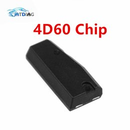 d chip Coupons - 1 PCS For For-d 4D60 ID60 For Fo-rd Blank Carbon Chip Car Carbon Transponder Chip