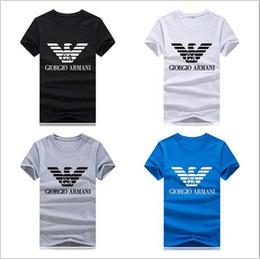 pantalones cortos de hombres gordos Rebajas Camiseta de marca diseñador de diseño boy eagle wing camiseta manga corta más gordo tamaño marinero alma camiseta para hombre y para mujer camisetas de algodón