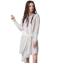 4262a9329ba1c Discount mini dresses shirt korean - 2019 original European and American  pictures denim boutique new women s