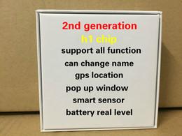 Nuovi germogli trasduttore auricolare Air Generation 2 ° Bluetooth auricolare senza fili ricarica con Smart Sensor animato finestra pop-up da cavo iphone v8 fornitori