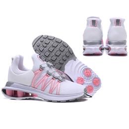 Senhoras ar on-line-Nike AIR shox Mulheres sapatos avenida entregar Atual NZ R4 908 das mulheres sapato de basquete esporte mulher correndo designer de tênis esporte senhora formadores 36-40