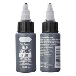 Parrucche di trama online-1Bottle 1Floz Hair Bonding Colla Super Bonding Colla liquida per tessitura Trama Parrucca Estensioni dei capelli Strumenti Uso professionale del salone