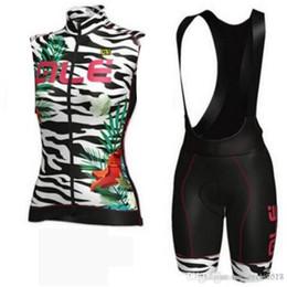 Frauen radsport bekleidung team online-2018 ALE Pro Team Frauen ärmellose Radtrikot Set MTB Fahrrad Sommer Fahrradbekleidung Rennrad Bekleidung Ropa Ciclismo MTB Sportswear