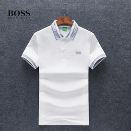 2019 Nuovo modello Tempo libero designer da uomo t-shirt polo shirt camicia firmata L'ultimo modello di Summer 1: 1 # 25 da modelli di polo fornitori