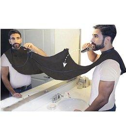 2019 mangas uniforme do hotel Barba preta homem Avental Novo Avental de Barbear Barba rápida Convenien Care Limpo Homens À Prova D 'Água De Limpeza Proteger Fontes Do Banheiro