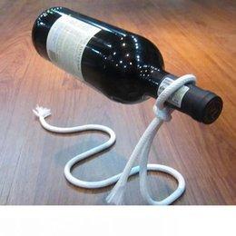 Argentina Vino Tinto titular de la botella creativa de enganche de marcos cadena de la cuerda para la botella de vino rojo 3cm Equipamiento del hogar adornos envío Suministro