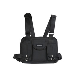 d7131860c 2019 bolsas mens do quadril Mulheres Fanny Nylon Harness Chest Rig Cintura  Pacote Kanye West Do