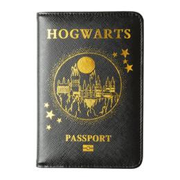 Housse de passeport HEQUN Cuir RFID Hogwarts Express Plate-forme Porte-passeport à plate-forme 9 HP Case Livraison directe ? partir de fabricateur