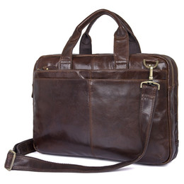 Luggage & Bags Helpful Nesitu High Quality Large Capacity Brown Genuine Leather Women Men Backpack Travel Bags Mens Portfolio Shoulder Bags M7014