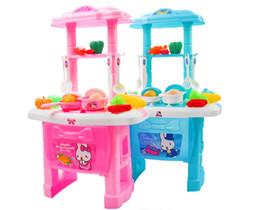 Mini conjunto de cozinha crianças pretend play cozinhar conjunto de ferramentas panelas de plástico pote pan acessórios cozinha toys bebê enigma boneca de Fornecedores de mini cozinha cozinhar brinquedo
