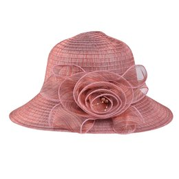 0f2b75b9ac754 roses beach hats Promo Codes - Rose Print Sunscreen Hat Fashion Floppy  Foldable Ladies Women Solid