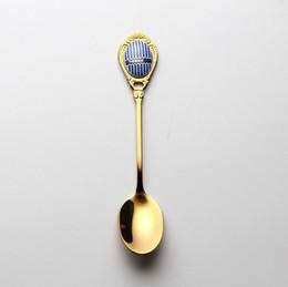 Rainbow mélange Cuillère Cuisine Vaisselle agitant pelles Accessoires Tea Scoop
