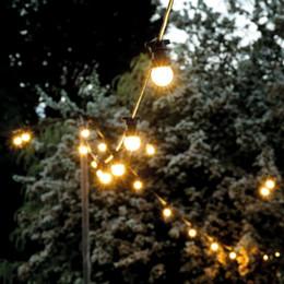 Canada Lampe d'extérieur à LED étanche Ampoule Cour accrocher la lampe String Petite ampoule Festival Décoration Lampe Offre