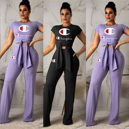 fashion womens sweatshirt wholesale Coupons - Womens clothing short sleeve outfits 2 piece set sexy fashion printed tracksuit jogging sport suit sweatshirt tights sport suit klw0742