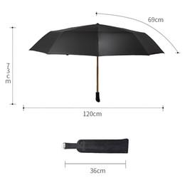guarda-chuvas compactos grossistas Desconto 2018 homens grandes guarda-chuva à prova de vento guarda-chuvas dobráveis macho marca blackk guarda-sol impermeável sol homem Umbrella Corporation