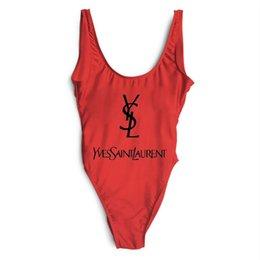 frete grátis Desconto Luxo YS Designer de Impressão Swimsuit Para As Mulheres Swimwear Set mulher Partido Biquíni Senhora Praia Maiôs roupas frete grátis