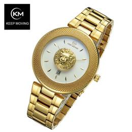 Reloj acuático mujeres online-Mantenerse en movimiento Acero Mujeres más famoso de la marca de lujo ocasionales de cuarzo reloj de oro rosa de las mujeres de agua de acero relojes Relogio SH190929