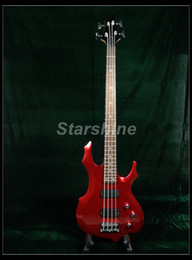Guitare Basse Électrique Starshine YL-EP10 Pont Fixe Style ESPS Métal Rouge ? partir de fabricateur