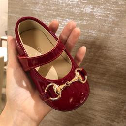 Compleanno di balletto online-Baby Girls First Walkers Designer Scarpe da bambino per bambina I miei primi regali di compleanno Boutique Store Risorse Ballerine Ballerine Suola morbida