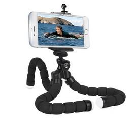 Suporte de câmera para celular on-line-Phone Holder Flexível Octopus tripé, suporte Suporte de montagem da bicicleta Monopod Styling Acessórios Para câmera do telefone móvel