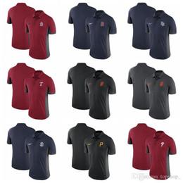 Calidad superior de 100% algodón con capucha 2020 Nuevos hombres del polo de franquicia Phillies piratas Mariners Padres Gigantes cardinales Rayos Rangers Jays Nacionales desde fabricantes