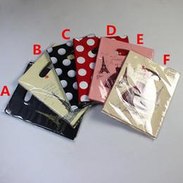 Canada 20 * 26cm petit en plastique emballage sac cadeau sacs, Nouveau emballage promotionnel sacs sacs à main, promotion shopping bijoux sac mélangé Offre