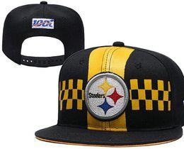 Chapeau de scène en Ligne-2019 Pittsburgh En Gros Projet Équipé Chapeau PIT Réglable Snapback Football Caps Sur La Scène Livraison Gratuite