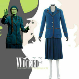 Cosplaydiy Custom Made Popular Music Drama Wicked Elphaba cosplay ? partir de fabricateur