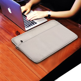 12 zoll laptop wasserdichte tasche online-Für 12.11 13.3 15.6 Zoll MacBook Laptop-Aktenkoffer-Laptop-Tasche Wasserdichte-verursachender Handtasche Mode-Nylon