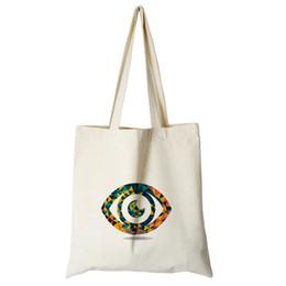 12602a17f7 big handbag shop 2019 - Original kawaii canvas big eye printing tote bag  factory direct sale