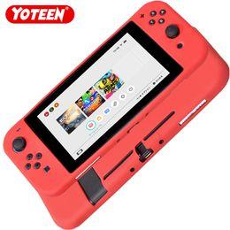 Custodia in silicone Yoteen per controller di controller Nintendo Cover in gomma Joy-con protezione integrale anti-scivolo da coperchio interruttore in gomma fornitori