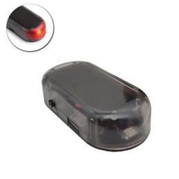 Argentina Energía solar USB Alarma de coche Luz antirrobo Advertencia Flash Parpadeante Coche falso Luz de flash Parpadea Lámpara Rojo Azul Suministro