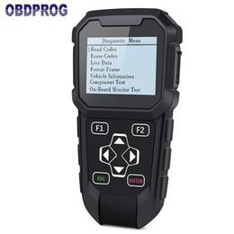 Herramienta de corrección del odómetro de ajuste MT401 Escáner OBD2 Ajuste de kilometraje limpio Herramienta de diagnóstico del automóvil Restablecimiento del tablero de instrumentos OBDPROG desde fabricantes